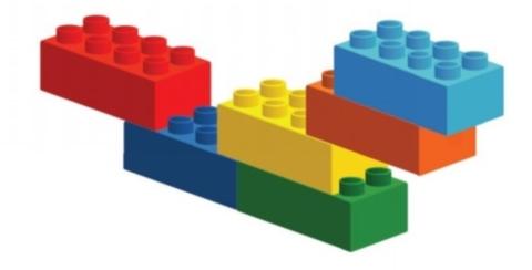 Ігри з лего 6 цеглинок в днз