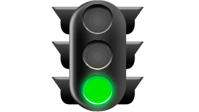 Анимация картинки светофора для, днем