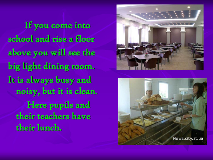 If you come into 