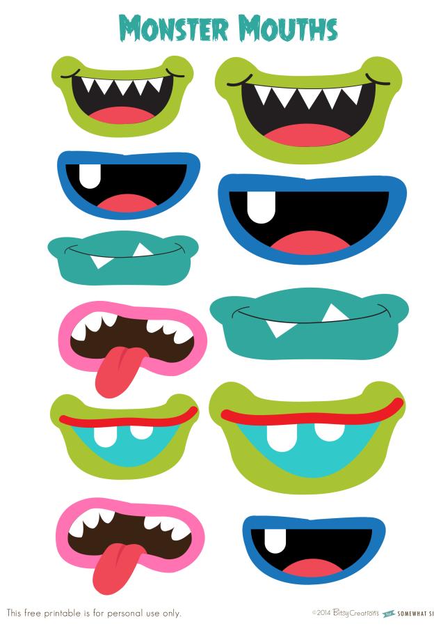 Картинки рта для игрушек