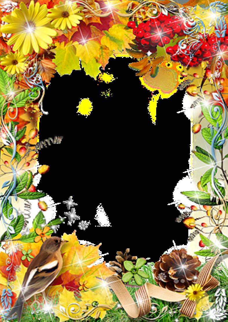 Фон для поздравления с днем рождения осенью