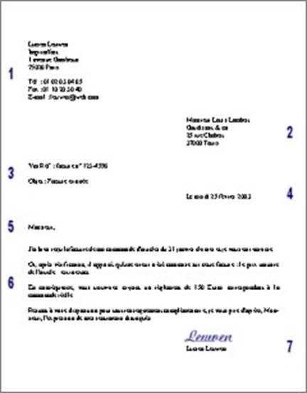 моделі листів скарг французькою мовою ділова французька мова