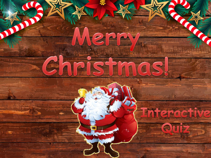 Merry Christmas! Interactive Quiz