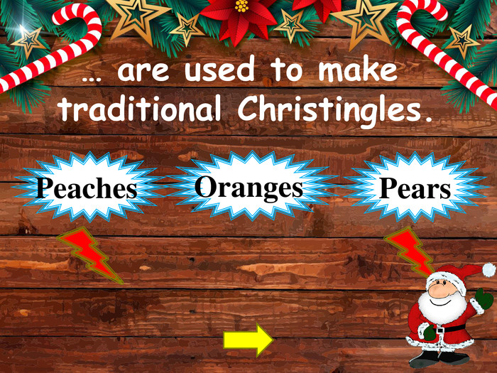 … are used to make traditional Christingles. Oranges Peaches Pearsstyle.opacitystyle.colorfillcolorfill.typefill.onstyle.opacitystyle.colorfillcolorfill.typefill.on