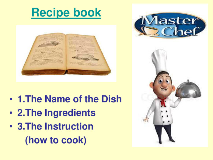 Recipe book 