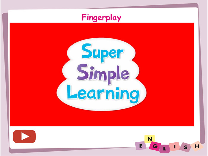Fingerplay