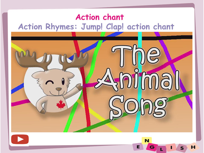 Action chant. Action Rhymes: Jump! Clap! action chant