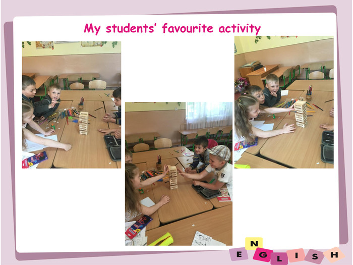 My students' favourite activity