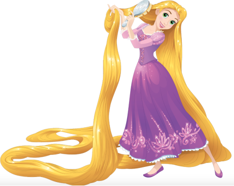 Rapunzel brushing her long golden hair | Disney princess rapunzel, Disney  princess pictures, Disney dream portrait