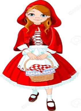 Illustration Of Little Red Riding Hood Royalty Free Cliparts, Vectors, And  Stock Illustration. Image 19704535.