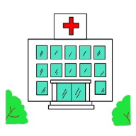 http://www.esl-kids.com/worksheets/images/buildings/hospital.gif