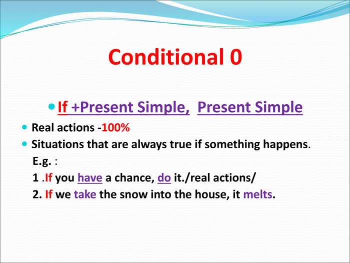 Conditional 0 