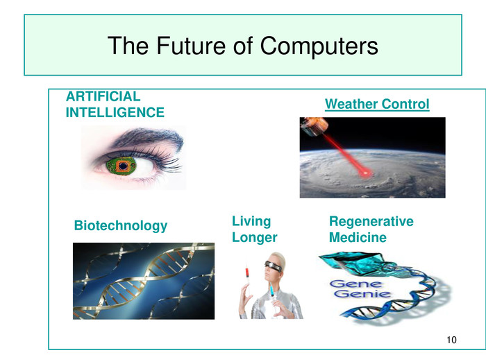 * The Future of Computers   