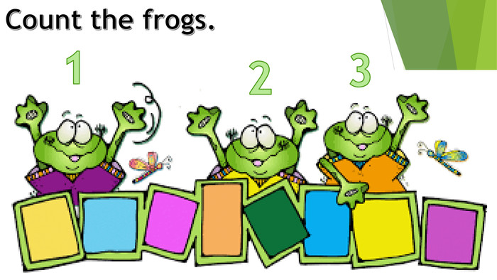 Count the frogs.123