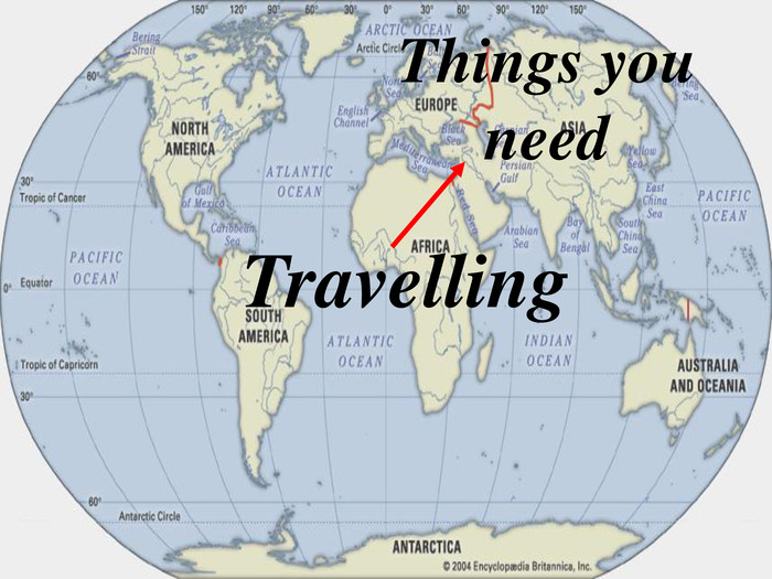 Travelling Things you 