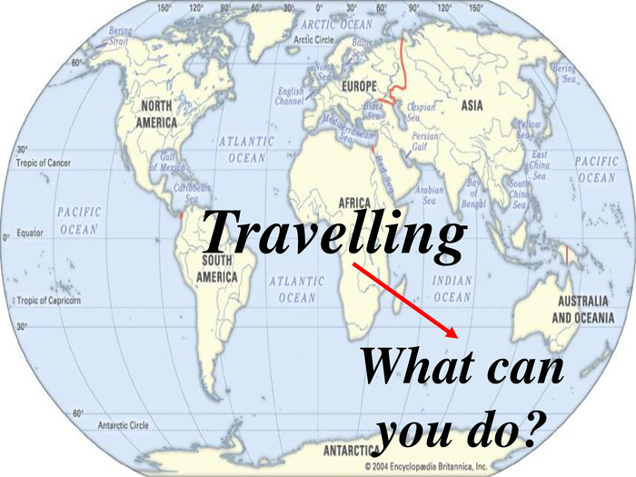 Travelling What can you do?