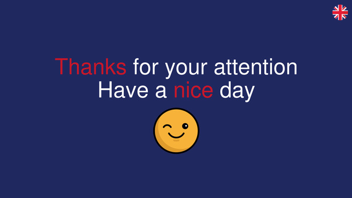 Thanks for your attention. Have a nice day