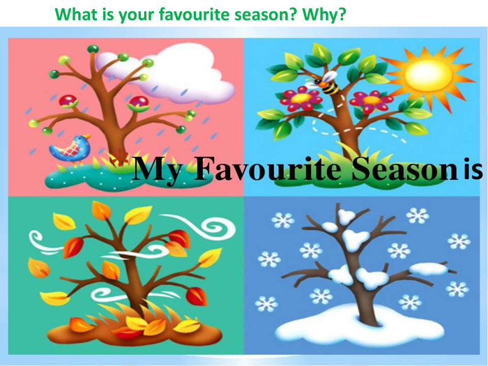 What is your favourite season? Why?is
