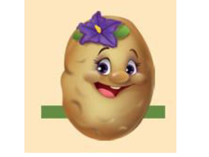 Картошка картинка для детей на голову