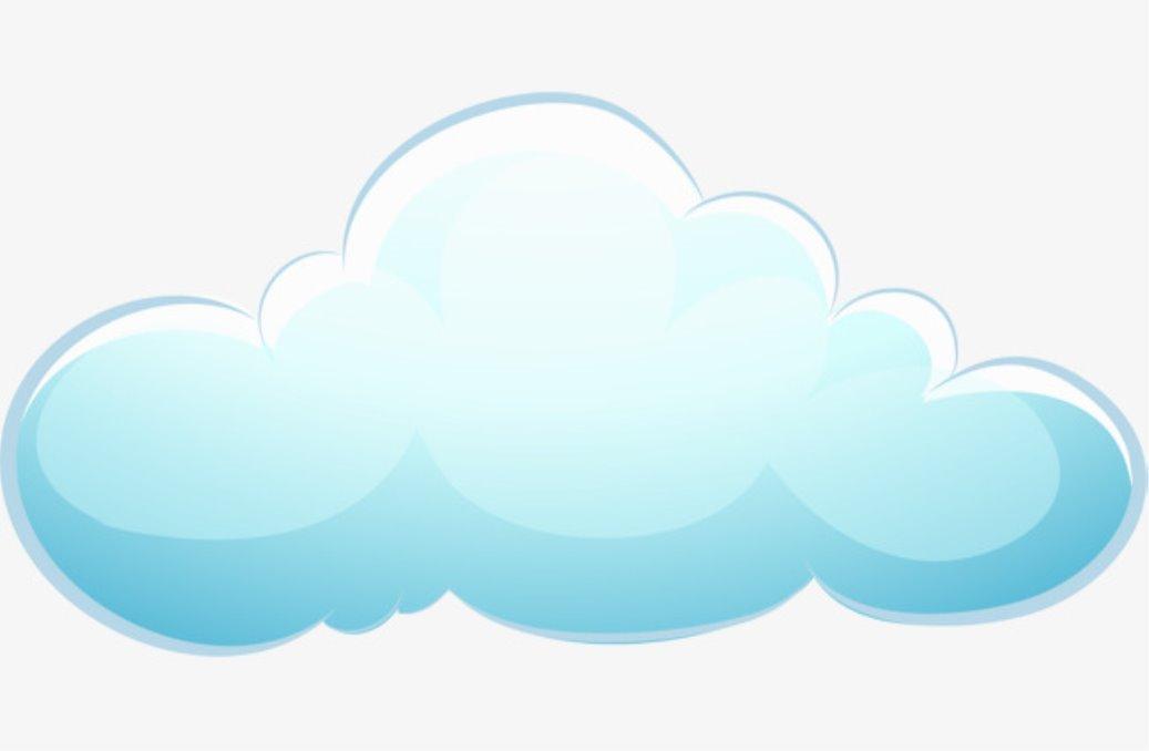 Картинки облаков для детей на прозрачном фоне