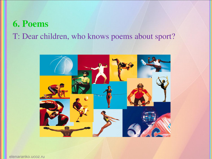 6. Poems