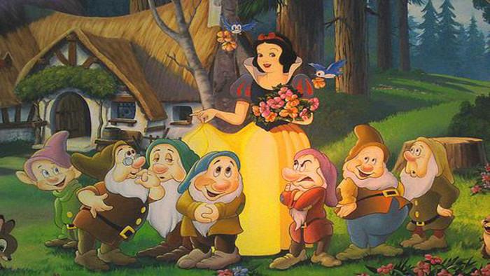 гримм белоснежка и семь гномов с картинками популярных