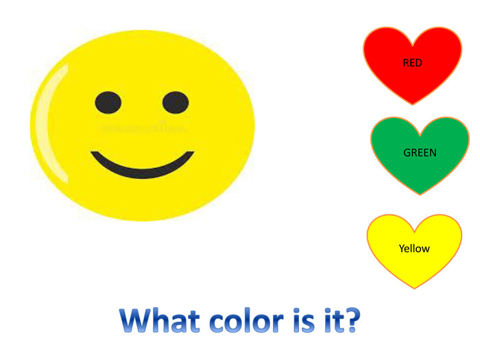 REDGREENYellow. What color is it?