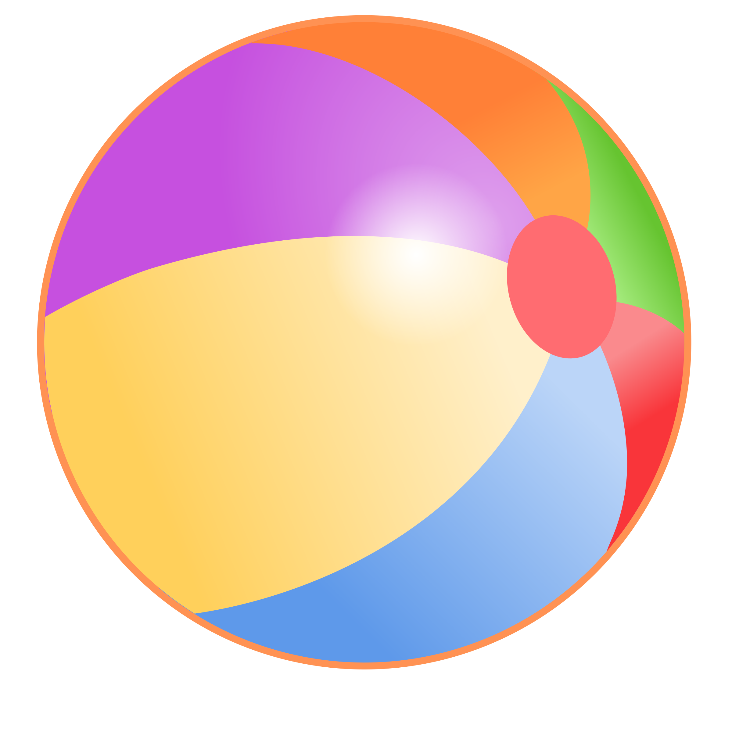 beach ball image - HD2400×2400