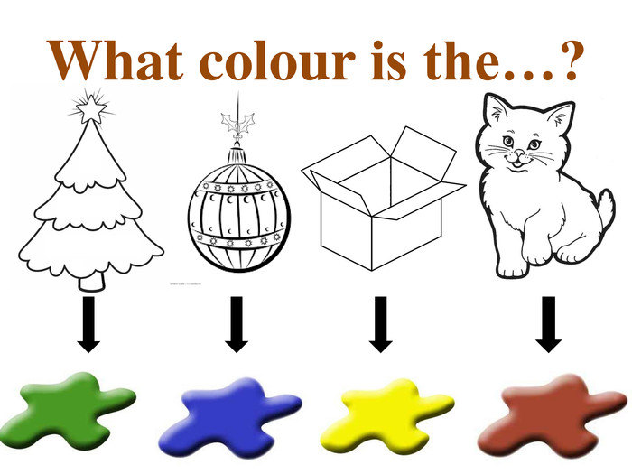 What colour is the…?