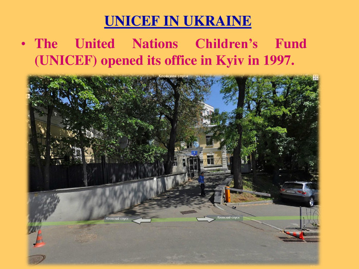 UNICEF IN UKRAINE The United Nations Children's Fund (UNICEF) opened its office in Kyiv in 1997.
