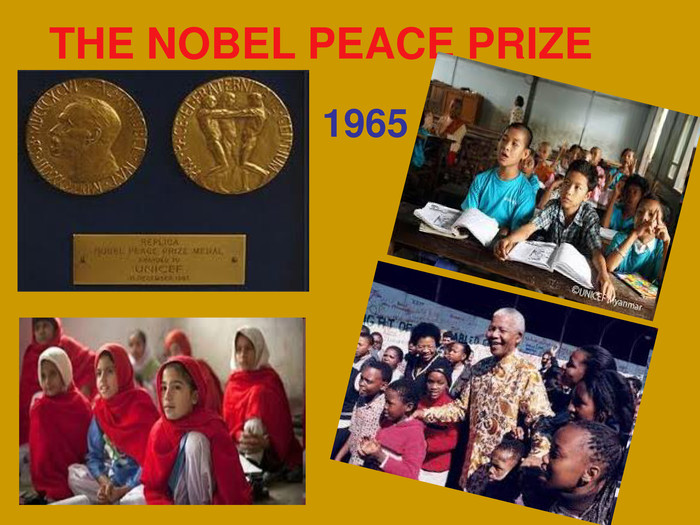 THE NOBEL PEACE PRIZE 1965