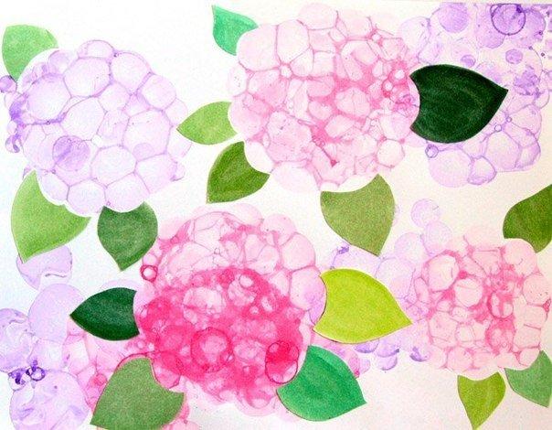 Картинки по запросу малювання мильними бульбашками