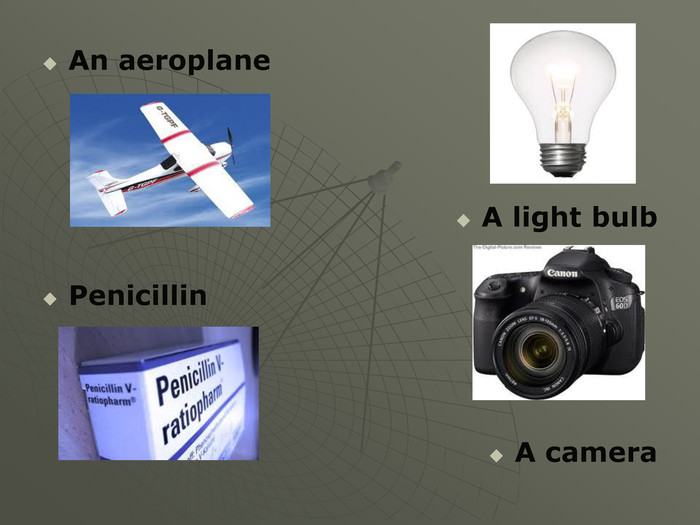 An aeroplane