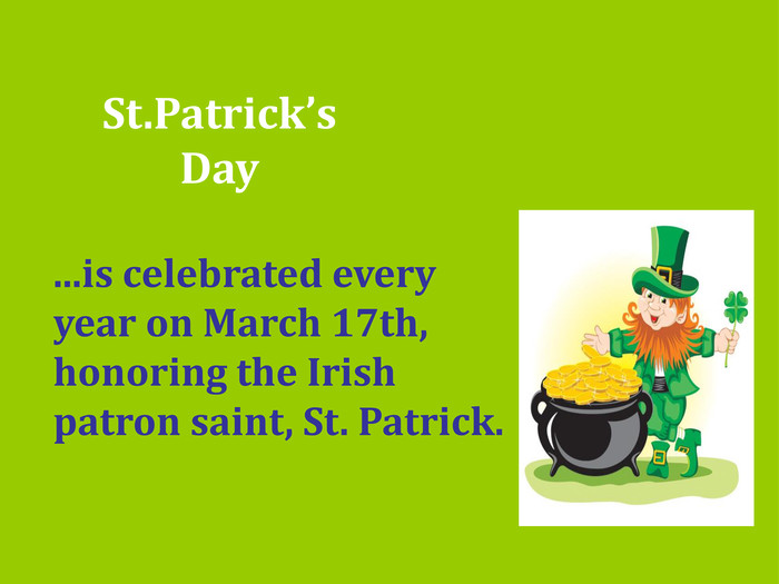 St.Patrick's Day 