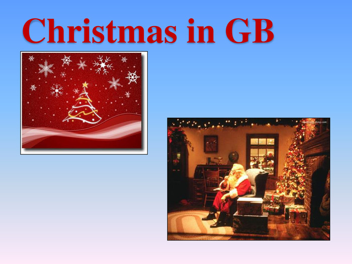 Christmas in GB