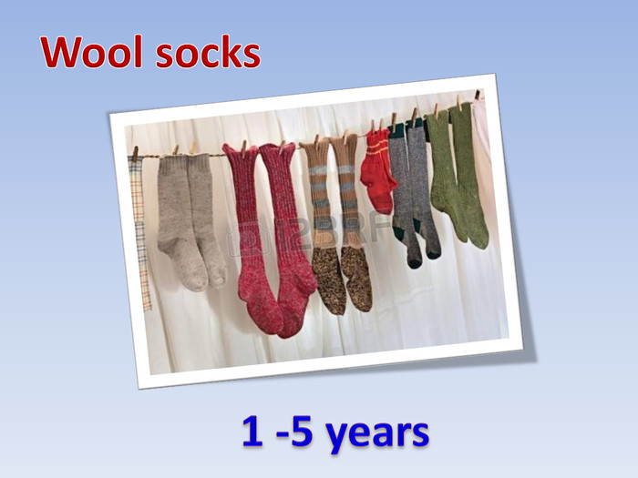 Wool socks 1 -5 years