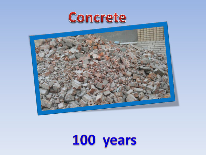 Concrete100 years
