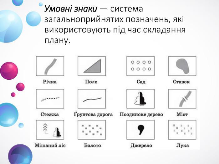 Умовні знаки — система загальноприйнятих позначень 4d7035ac1e4b6