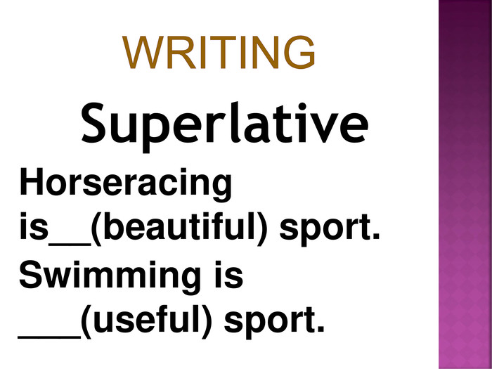 Superlative