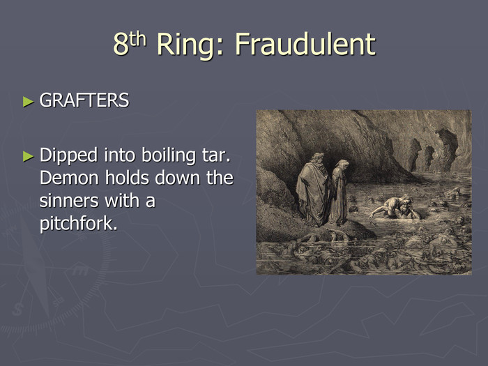 8th Ring: Fraudulent GRAFTERS