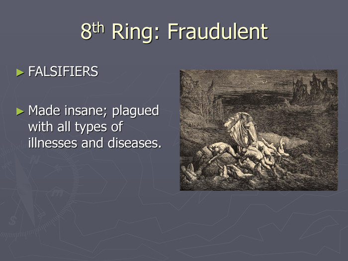 8th Ring: Fraudulent FALSIFIERS