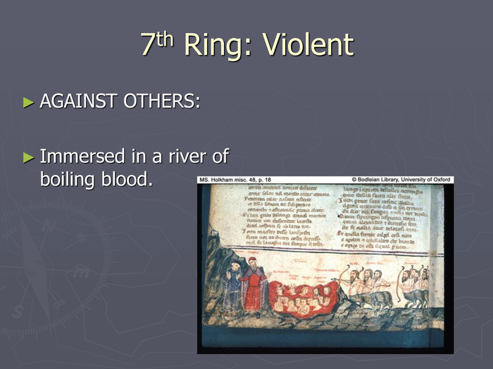7th Ring: Violent AGAINST OTHERS: