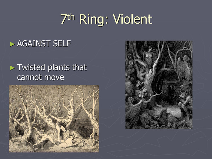 7th Ring: Violent AGAINST SELF