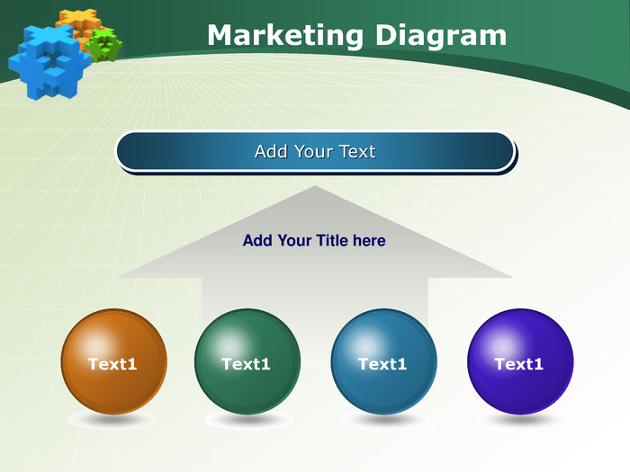 Marketing Diagram. Add Your Text. Add Your Title here. Text1 Text1 Text1 Text1
