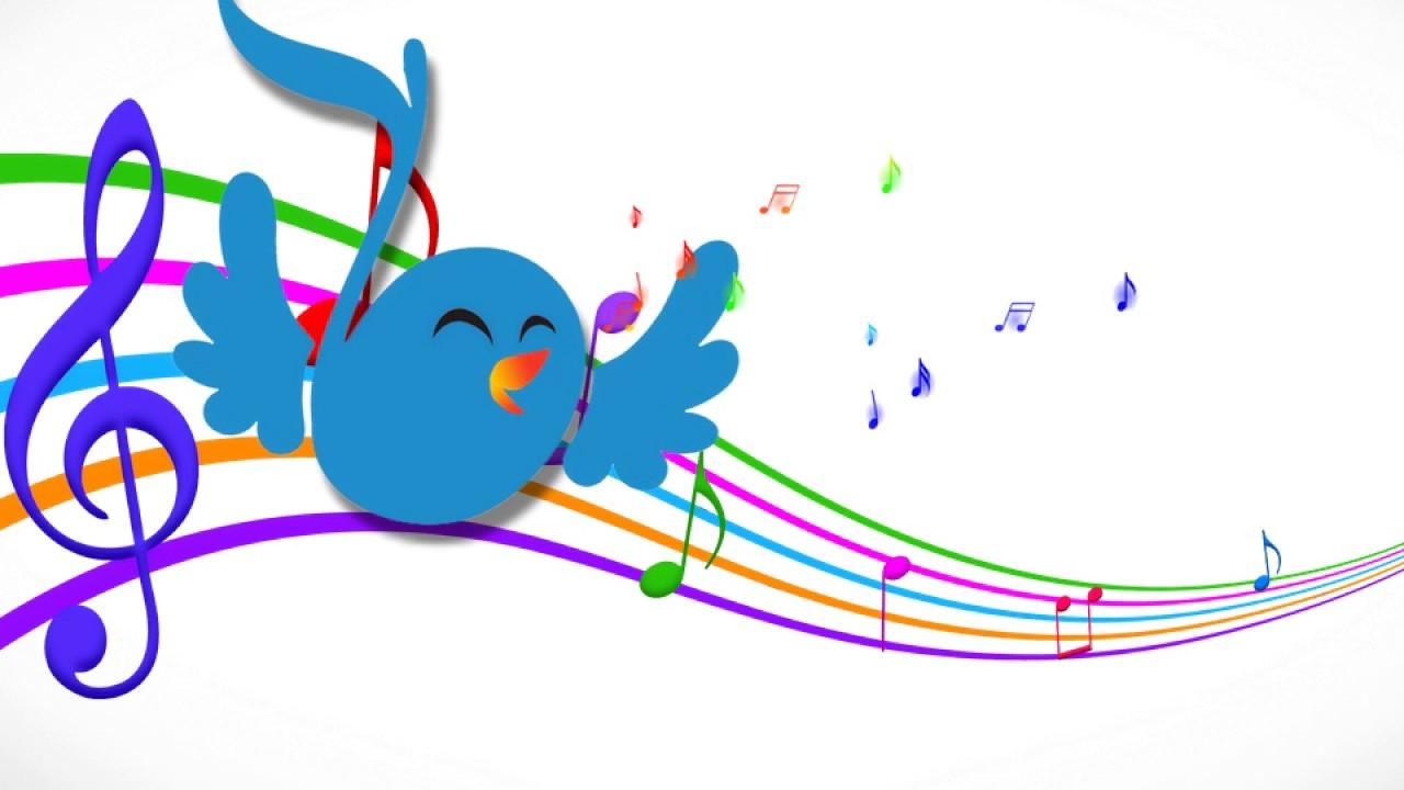 Годовщиной, веселые нотки птички картинки для детей