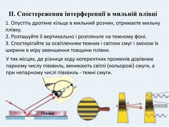 Робота світла дифракції лабораторна гдз інтерференції спостереження та