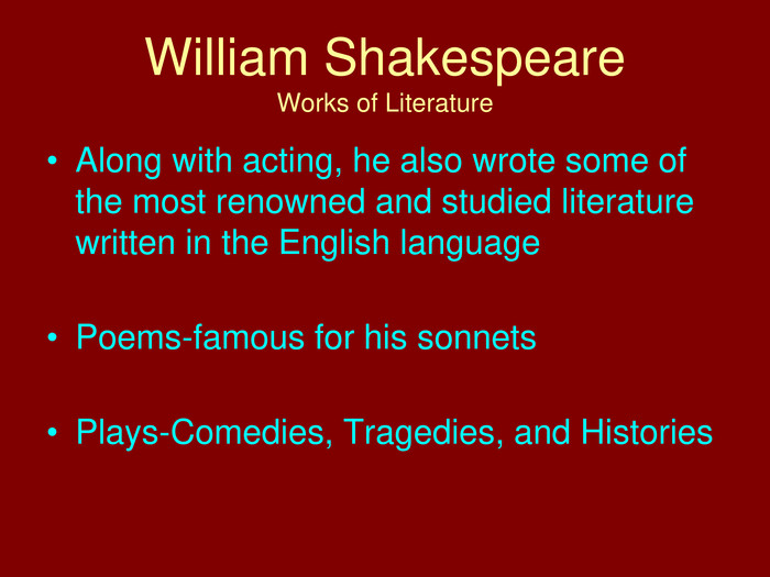william shakespeares early brush with literature William shakespeare remains a of shakespeare's early life in stratford william shakespeare of william shakespeare from the literature.
