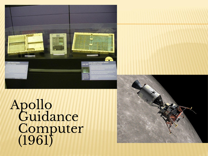 Apollo Guidance Computer (1961)