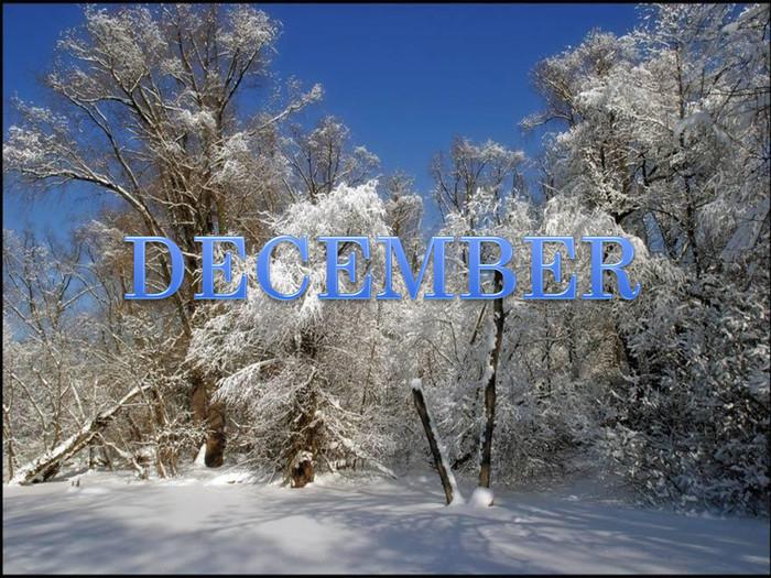 Картинки декабрь и май