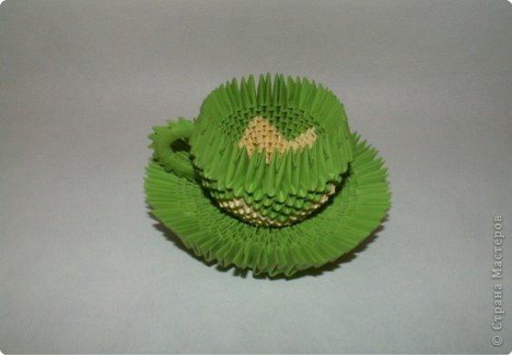 Днем, смотреть картинки оригами из бумаги по модулям чайный сервиз